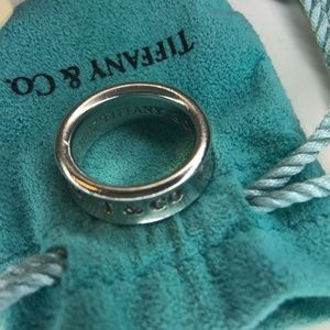Tiffany & Co. 1837 Sterling Silver 925 Ring 4